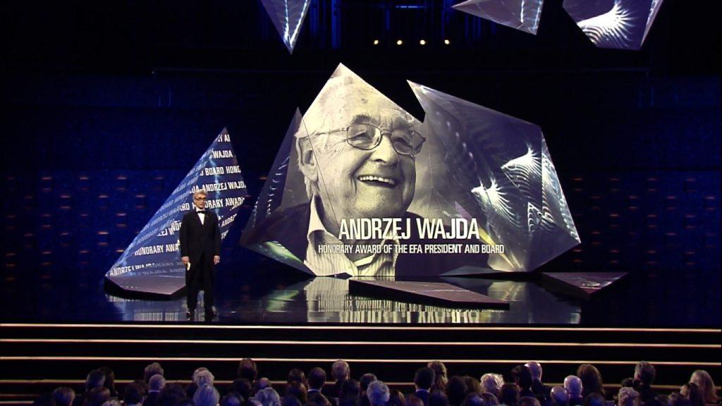 wspomnienie Andrzeja Wajdy na gali EFA