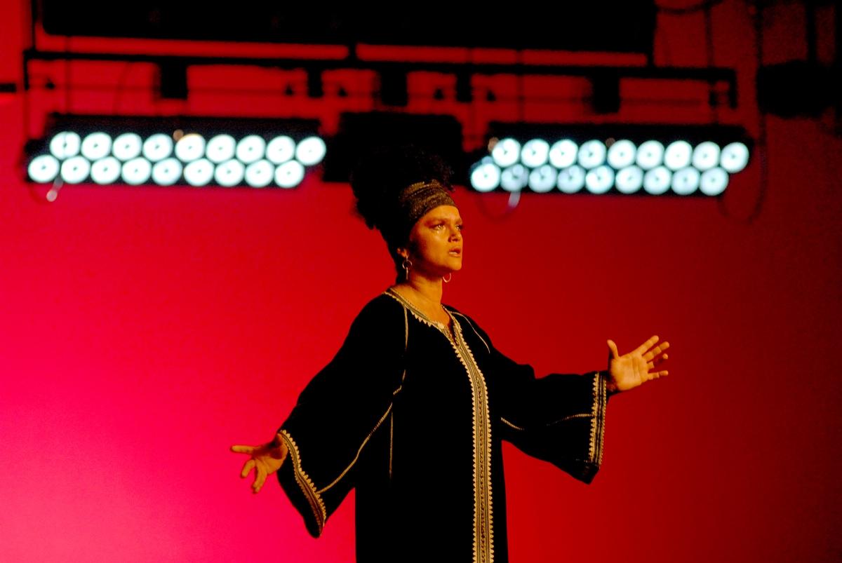kadr z filmu Aria Diva, reż. Agnieszka Smoczyńska