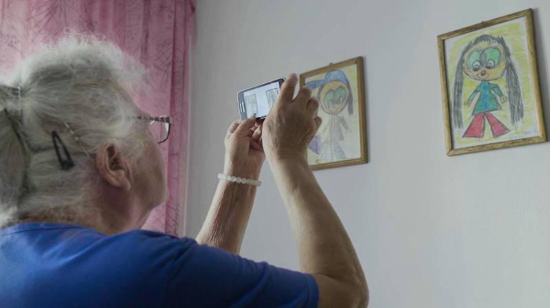 Kadr z filmu Dzień babci